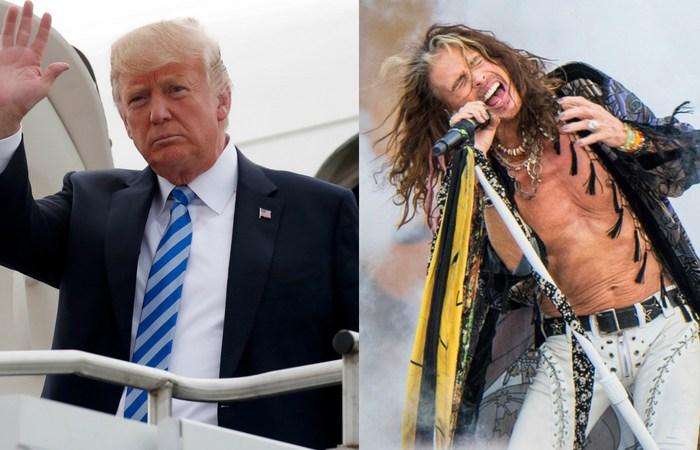 Steven Tyler Sends Trump Cease-and-Desist Letter