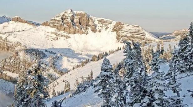 Summer Snow Falls in Montana, Idaho and Wyoming