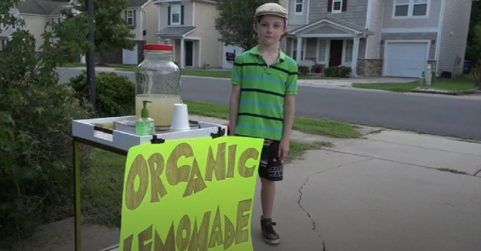 An Armed Psycho Robbed a Kid's Lemonade Stand But There's a Happy Ending
