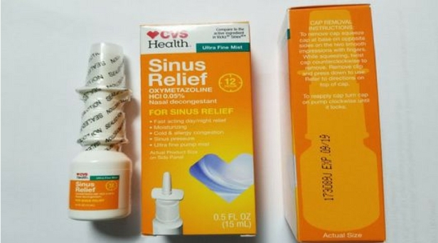 CVS Issues Recall For Popular Sinus and Allergy Medication