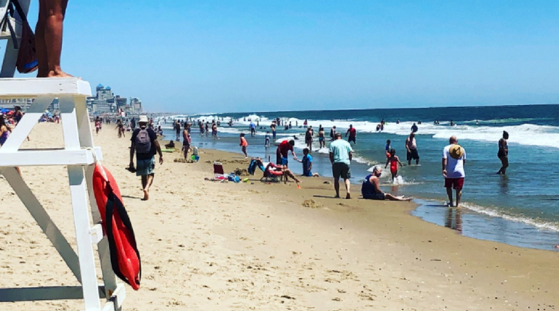 Sea Lice Outbreak Reported at Ocean City Beach