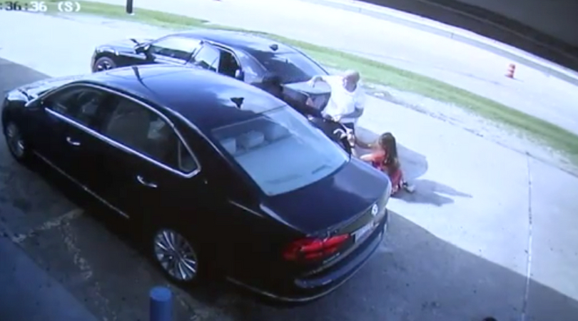 Graphic Video Shows Couple Run Over After Attempted Robbery