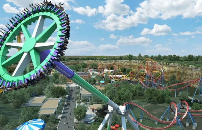 Six Flags Fiesta Texas Is Building the Craziest Record-Breaking Ride