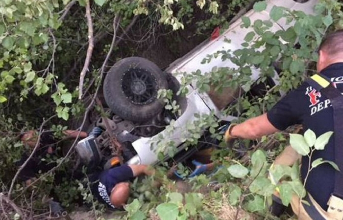 Missing Man Survives Days Pinned Under Wrecked Pickup Truck