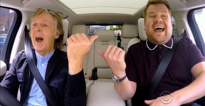 Paul McCartney's Carpool Karaoke Will Become a Primetime Special