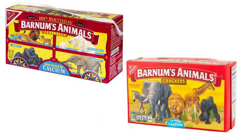 "Barnum Animal Crackers Unveil New ""Cage Free"" Design After PETA Protest"