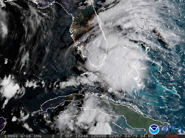 Tropical Storm Gordon Brings Hurricane Watch to Gulf Coast