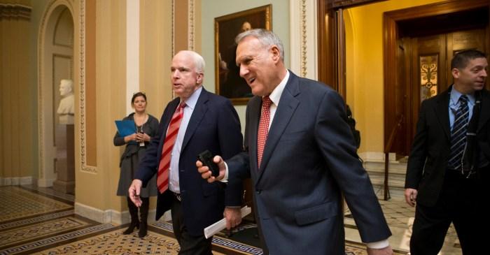 Governor of Arizona Announces McCain's Senate Replacement
