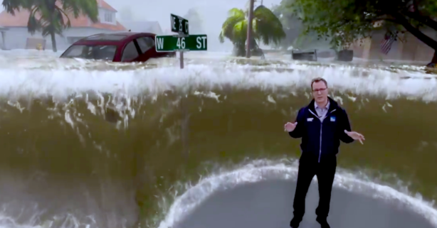 This Video Illustrating Hurricane Florence Flooding is Jaw Dropping