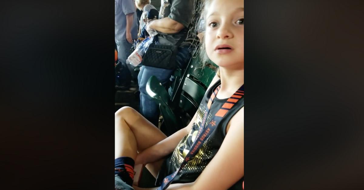 Little Girl Astros