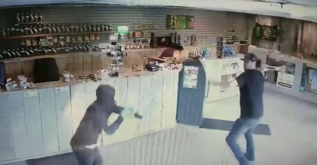 Man Fights off Robbers with Bong