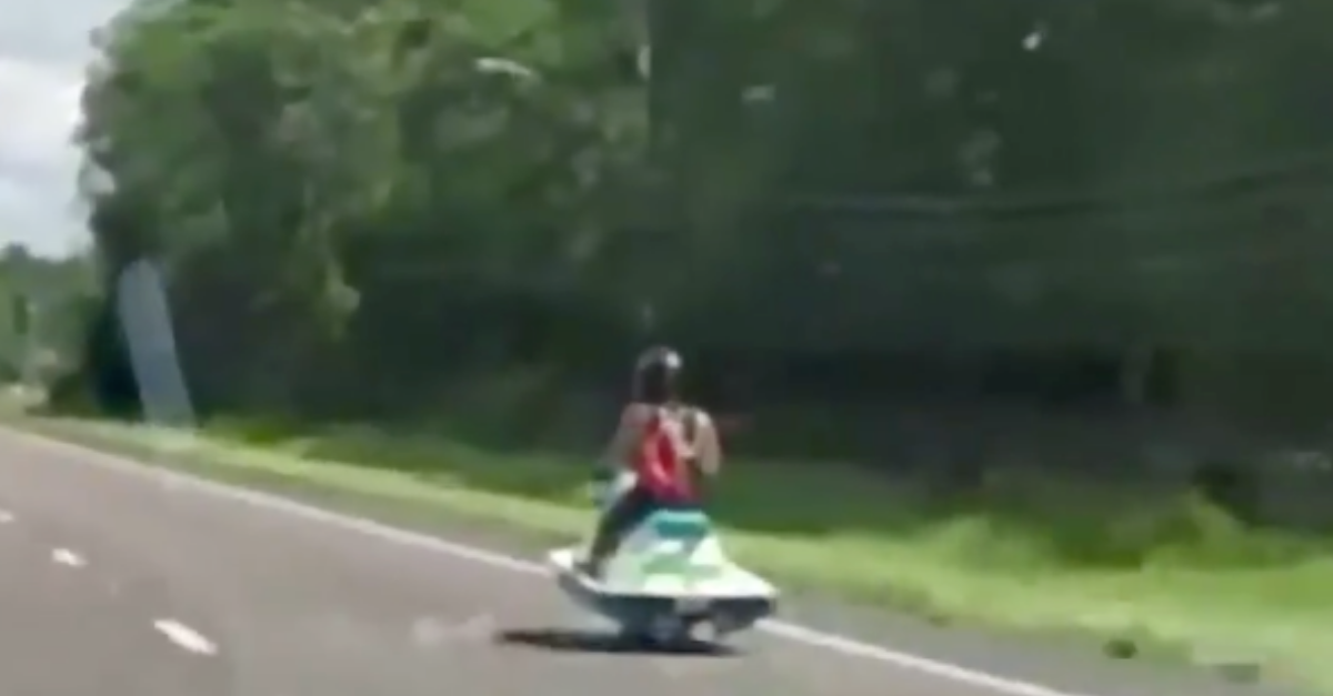 Motorcycle Jetski