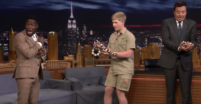 Steve Irwin's Son Freaks Kevin Hart Out So Much with His Animals, It's Bust-a-Gut Hilarious