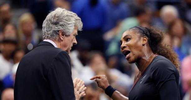 Serena Williams Fined $17K For U.S. Open Temper Tantrum