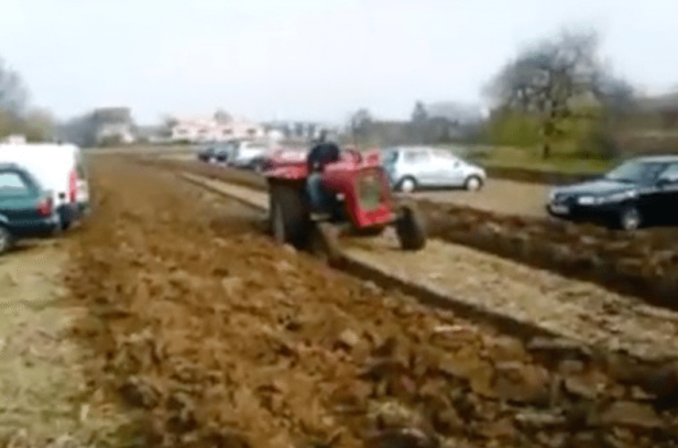 Farmer Gets Sweet Revenge on People Who Illegally Park on His Land