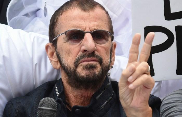 Ringo! Ex-Beatles Drummer Plays at Radio City Music Hall