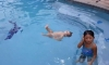 Watch This Adorable 1-Year-Old Swim Her Way Around The Pool