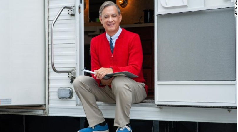 Tom Hank Transforms Into Mr. Rogers and The Resemblance Is Uncanny