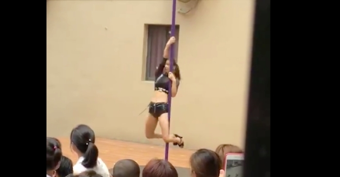 Kindergarten Principal Fired For Pole Dancing During Welcome Ceremony