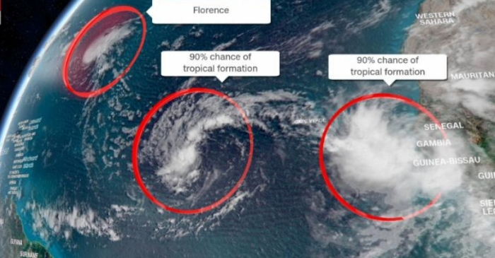 Hurricane Florence Expected to Re-Strengthen, Threaten East Coast