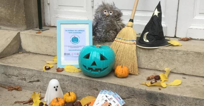 Why Are People Putting Teal Pumpkins On Their Front Porch?