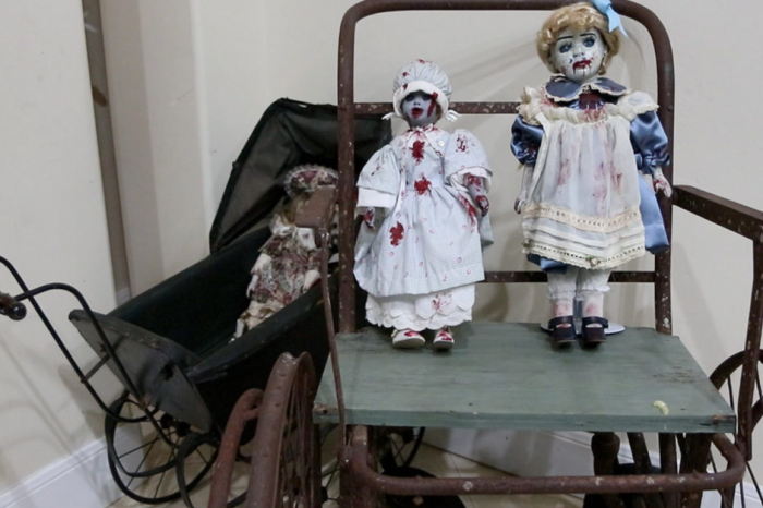 This San Antonio Home Collects Haunted Dolls, is Filled with Spirits