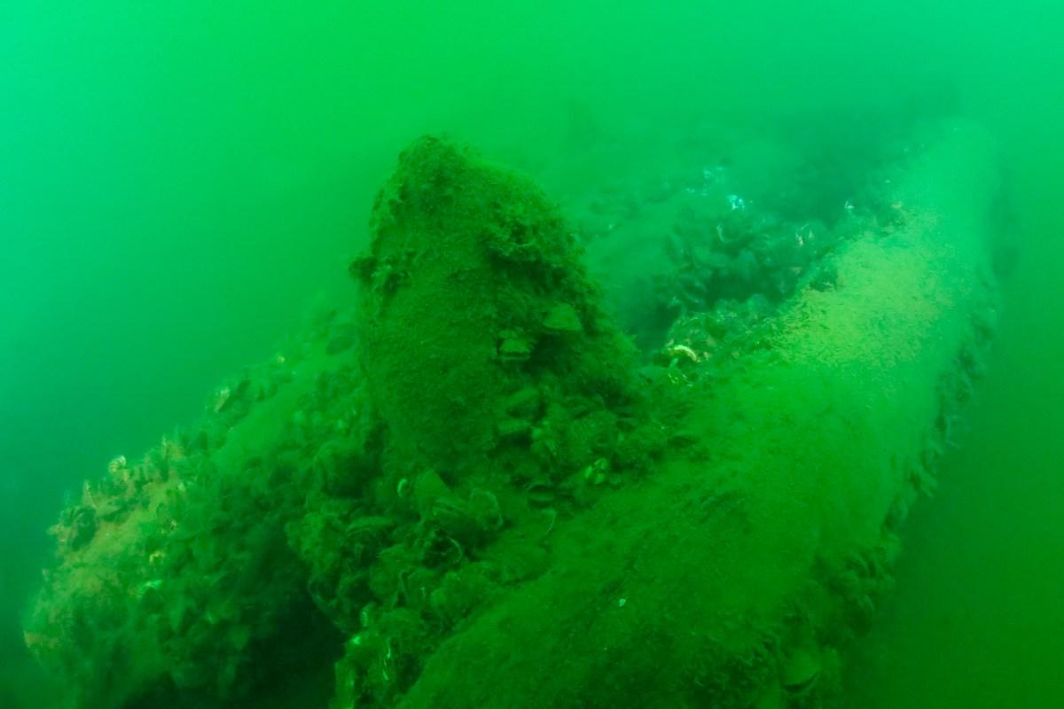 Shipwreck Lake Erie