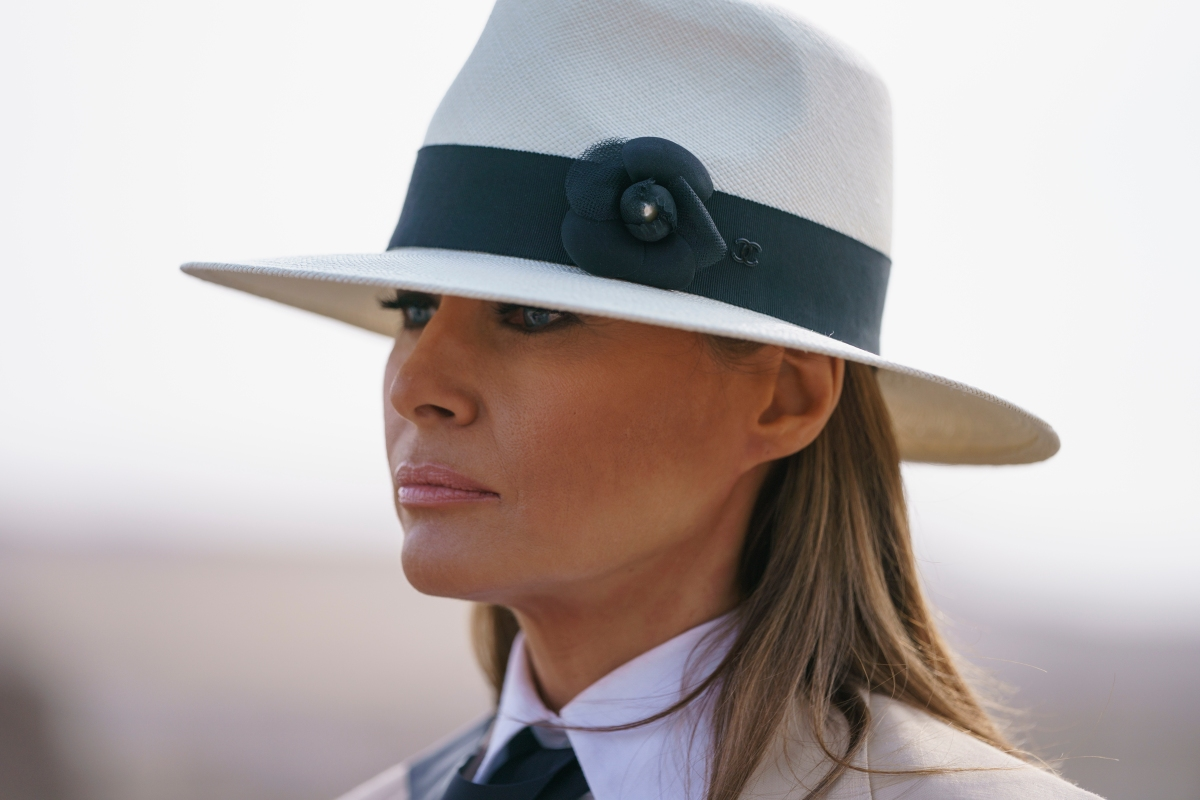 First Lady Melania Trump Says She Ignores Cheating Rumors