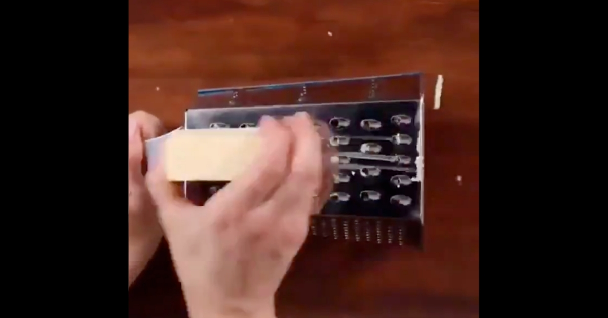 cheese grater hack