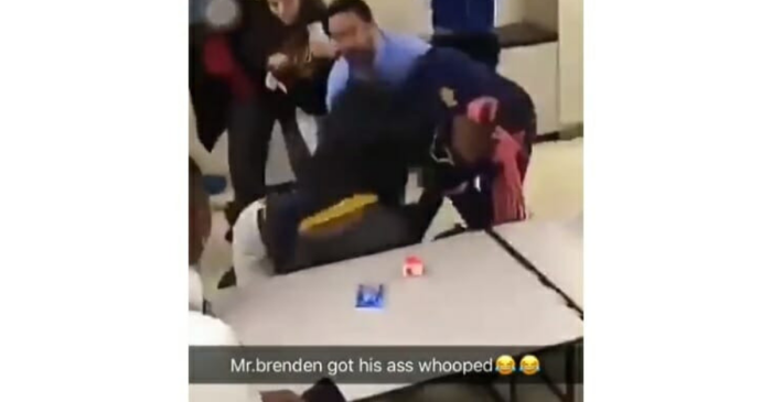 Video Shows High School Principal Getting Beat Up By Students