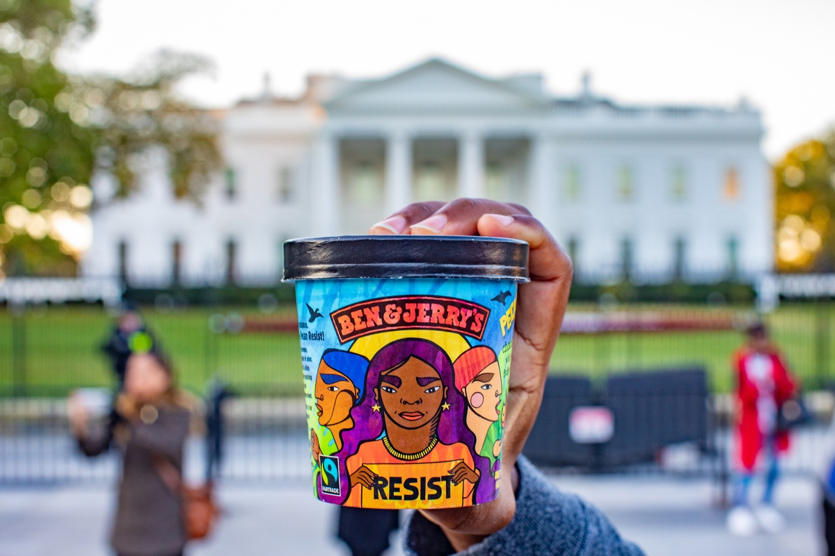 Ben and Jerry's Launched a New Flavor Inspired by President Trump