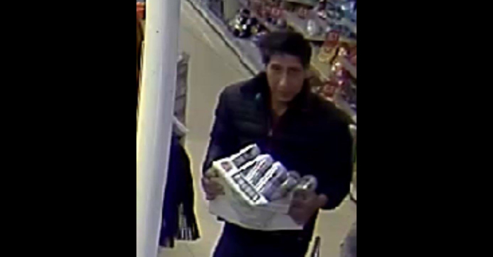 Man Who Looks Exactly Like Ross From 'Friends' Steals Case of Beer