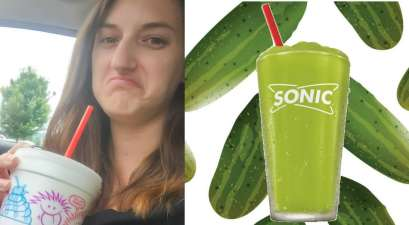 Sonic Pickle Slush Experiment