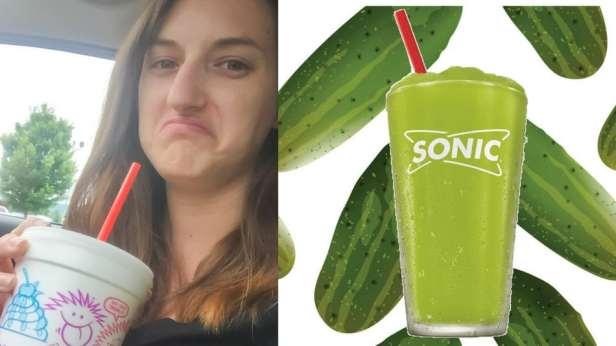 I Tried Sonic's Pickle Slush and WOW. Here's What I Thought.