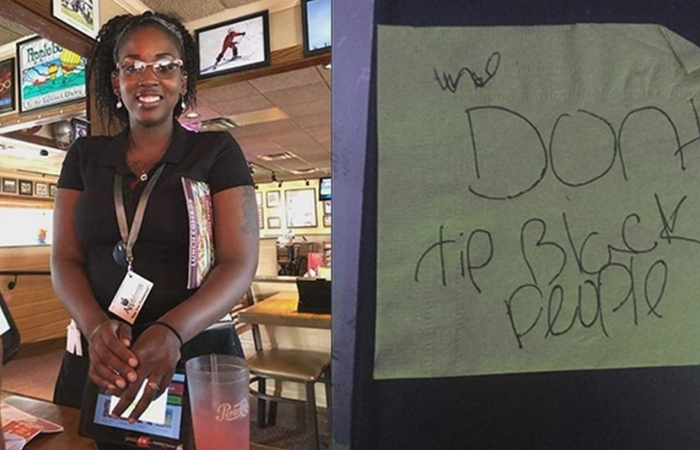 Applebee's Waitress Given Racist Note on Napkin Instead of Tip