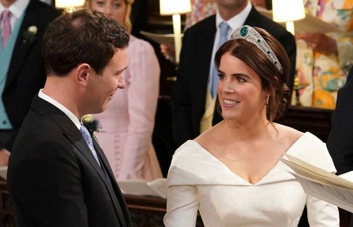 Princess Eugenie Weds Her Beau at Windsor Castle