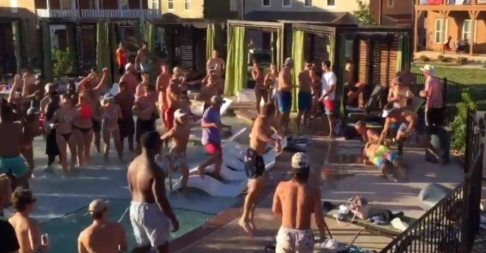 Texas Pool Party Brawl Involving Students Goes Viral
