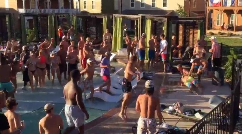 San Marcos Pool Party Brawl Involving Students Goes Viral