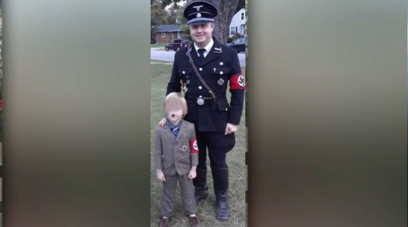 Dad Receives Backlash After Dressing Up 5-Year-Old As A Hitler For Halloween