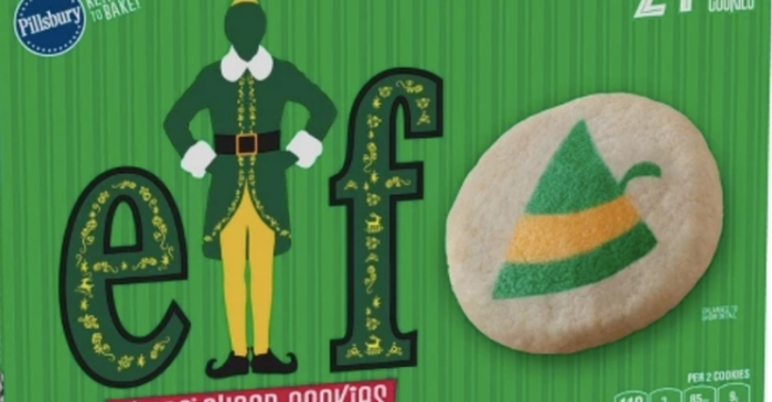 Pillsbury's Buddy the Elf Sugar Cookies Are Here And It's A Dream Come True