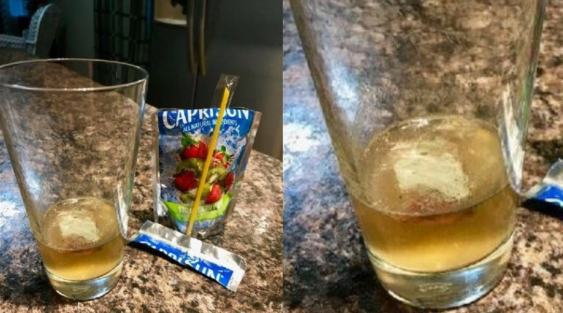 Mold-Like Substance Found Inside Capri Sun Juice Pouch