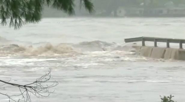 WATCH: Llano River Floodwaters Destroy Kingsland, Texas Bridge