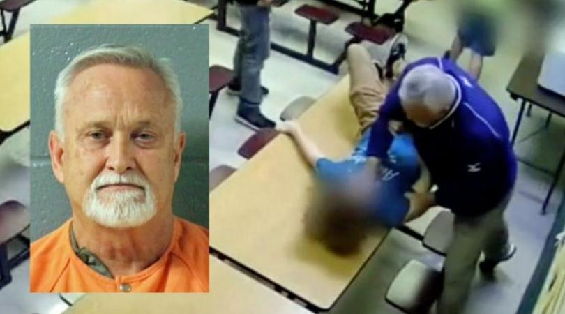 Teacher Caught On Video Grabbing Student By Throat, Slams Him on Table