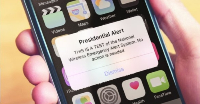 Presidential Emergency Alert Test Scheduled for October 3rd