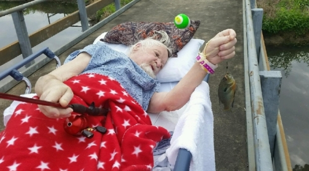 Vietnam Veteran Catches Final Fish as Dying Wish