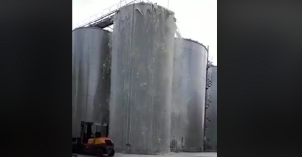Watch as 8000 Gallons of Wine Explode From This Tank in Italy
