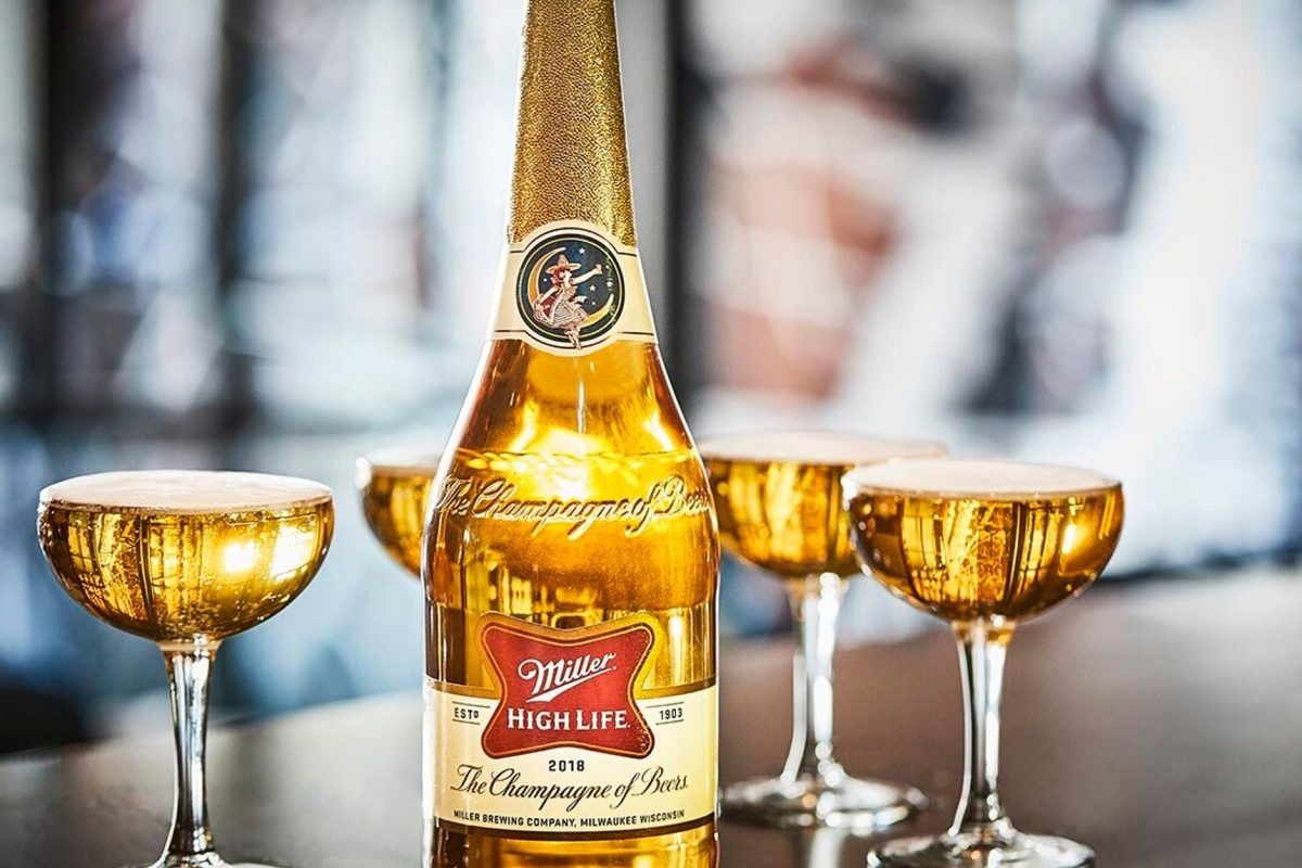 champagne of beer