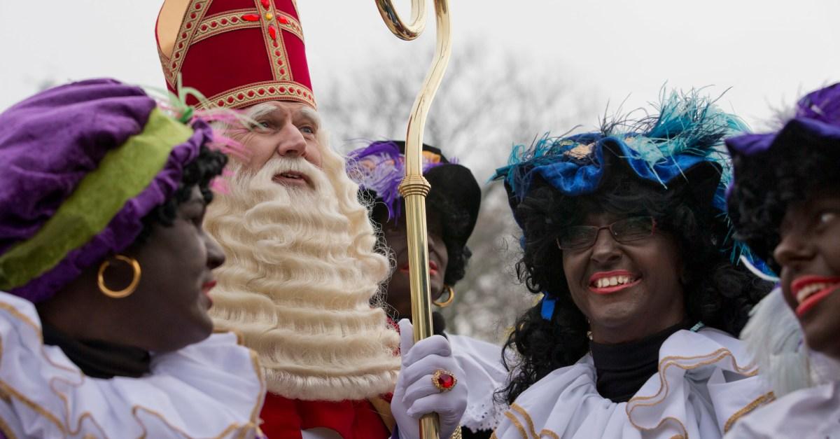 Black Pete Is Santa's Sidekick Here, But Should He Wear Blackface?