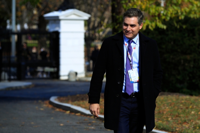 CNN's Acosta Allowed Back at White House after Judge's Ruling