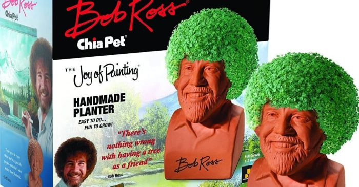 You Can Buy a Bob Ross Chia Pet Because, Well, Who Wouldn't Want One?